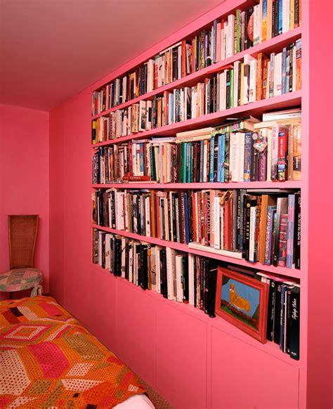 Pink Bookshelf  Dulwich Design And Build