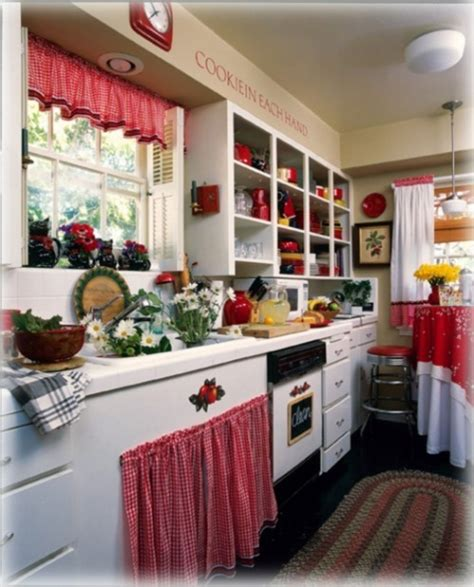 Red Kitchen Decor Themes  Kitchen Decor Sets
