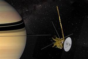 Photos From NASA's Cassini Spacecraft and Its 20-Year ...
