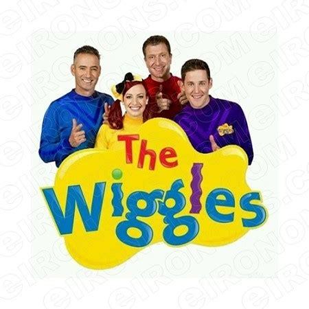 wiggles logo character  shirt iron  transfer decal