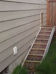 doors dogs and dog runs on pinterest With dog door steps