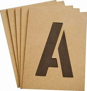 hy ko st 3 heavy duty number and letter stencil kit 3 in With 3 inch letter stencil kit