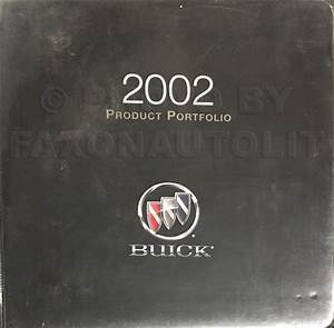 2002 Buick Park Avenue Repair Shop Manual Original 2