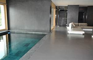 Fugenloser Bodenbelag Bad. wand14 fusion puristische wohn und ...