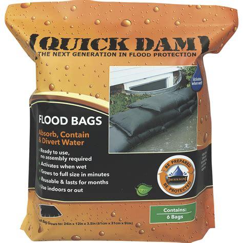 Quick Dam Flood Bags — 6-Pack, Model# QD1224-6 | Northern ...