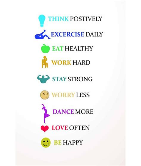 Healthy Living Quotes Sayings