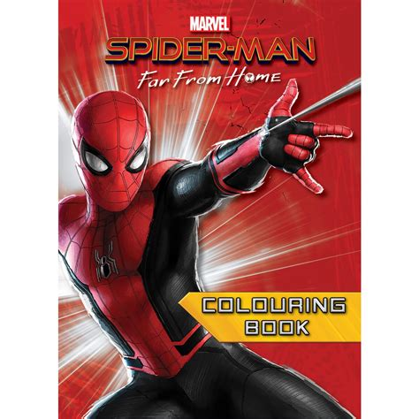 spider man   home colouring book big