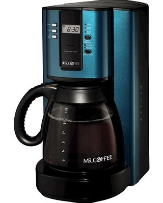 Even with the steeping time, you don't need to worry about the flavors soaking into the mr. Spectacular Sales for Mr. Coffee 12-Cup Programmable Coffee Maker - Turquoise Bvmc-Tjx, Vivid Teal