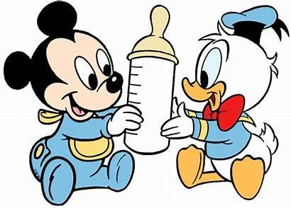 Mickey Donald Disney Duck Clip Babies Galore