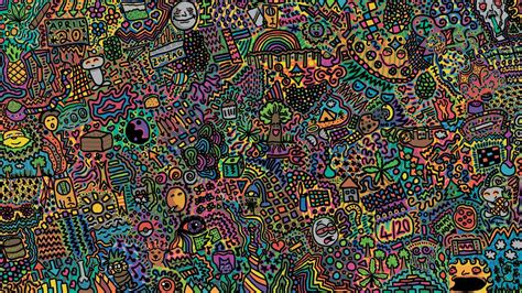 Colorful Psychedelic Art Hd Wallpaper