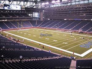 Ford Field Seating Chart Concert Ford Field Section 237 Detroit Lions Rateyourseats Com