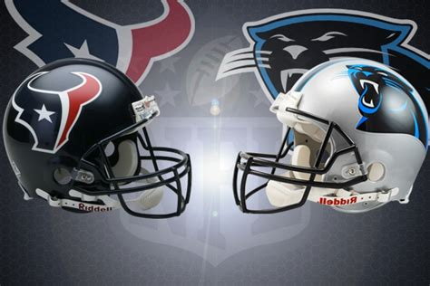 nfl week   houston texans  carolina panthers