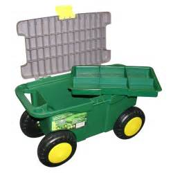 Rolling Garden Cart With Seat by Details About Mobile Garden Cart Gardening Chest Tool Box
