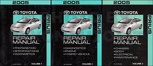 2004 Toyota Prius Service Repair Shop Set Oem 3 Volume Set And Electrical Wiring Diagram