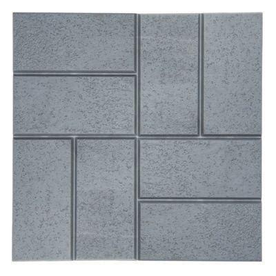 emsco brick pattern resin patio pavers plastic and