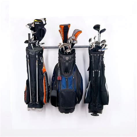 golf bag holder for garage golf club organizer for garage home design ideas
