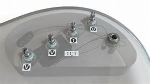 2 Band Tct Preamp  4 Inline Pots - Tct-4 2j