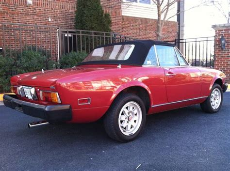 1978 Fiat 124 Spider by 1978 Fiat 124 Spider Disposable Sports Car 11 Totally
