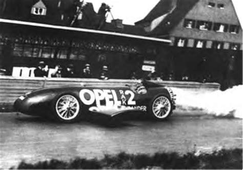 Opel Raketenauto by Opel Rocket Vehicles