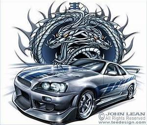 Dessin Fast And Furious : dessin nissan skyline de 2 fast 2 furious ~ Maxctalentgroup.com Avis de Voitures