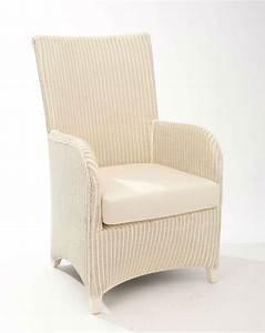 Fauteuil Salle A Manger : fauteuil de salle manger en loom brin d 39 ouest ~ Teatrodelosmanantiales.com Idées de Décoration