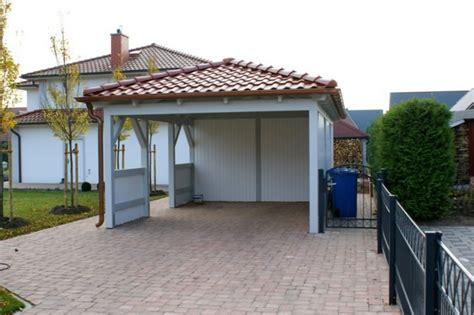 Carport Walmdach  Haus Renovieren