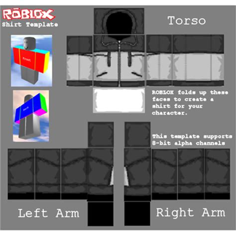 roblox clothes template winter shirt template roblox