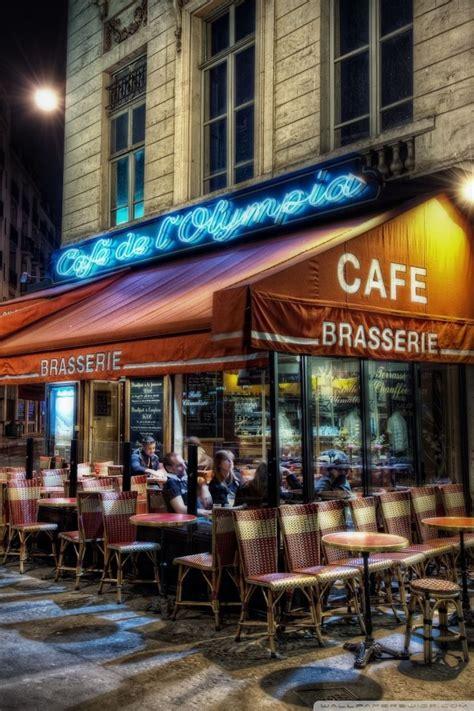 cafe paris france  hd desktop wallpaper  tablet smartphone mobile devices
