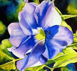 Watercolor Paintings Of Tropical Flowers | www.pixshark ...