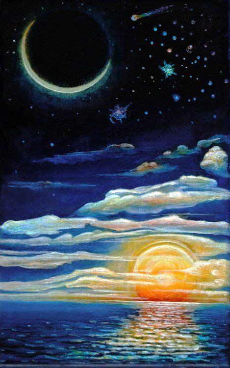 Pin by Corissa Chace on Art Corner | Moon painting ...