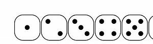 1 Dice Clipart | Clipart Panda - Free Clipart Images