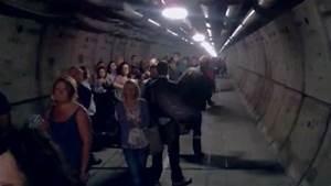 Video  Bloqu U00e9s Dans Le Tunnel Sous La Manche  Ils Filment Leur  U00e9vacuation