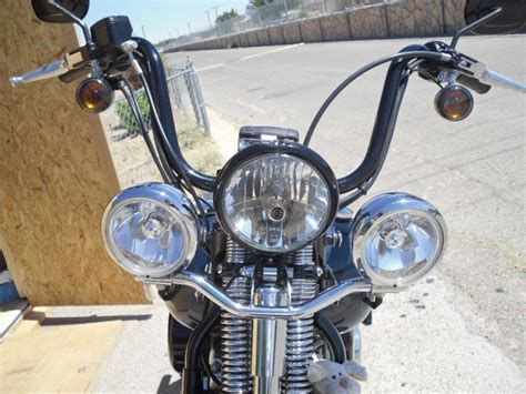 crossbones with light bar and windshield harley davidson