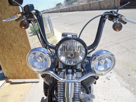 Harley Davidson Light Bar by Crossbones With Light Bar And Windshield Harley Davidson