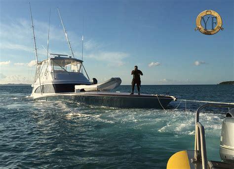 Sinking Big Boats by Breaking News New 74 Spencer Sportfish Sinks
