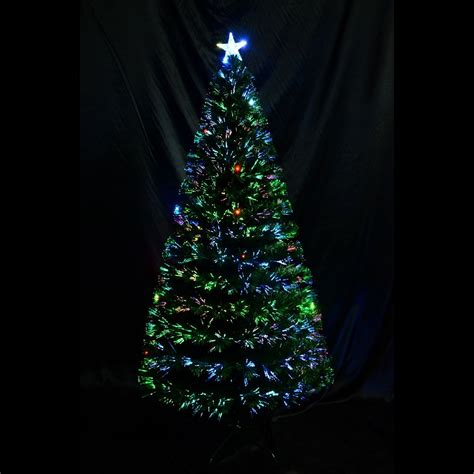 homcom 6 artificial tree with led lights