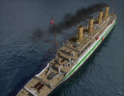 The Sinking Of The Britannic Version by Britannic By Enigmator On Deviantart