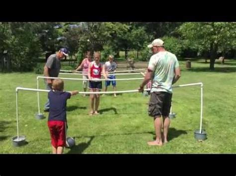 diy human foosball game youtube