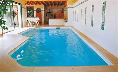 Pool Haus Ferienwohnung Indoor Desjoyaux Pools Einer