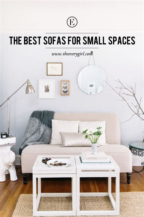 Sofas For Small Apartments by The Best Sofas For Small Spaces The Everygirl