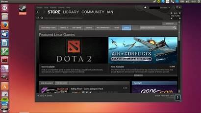 Linux Steam Games Steamos Gaming Ubuntu Valve