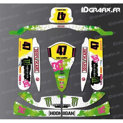 kit deco 100 custom scuderia f1 for karting tony kart m4 idgrafix