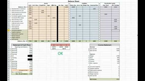 double entry accounting spreadsheet laobing kaisuo
