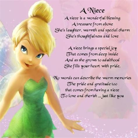 poems   niece niece poem tinkerbell design inspiring ideas niece quotes niece