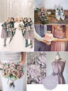 Purple Hues for Winter Wedding Color Ideas and Bridesmaid
