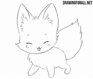How to Draw a Chibi Fox | Drawingforall.net
