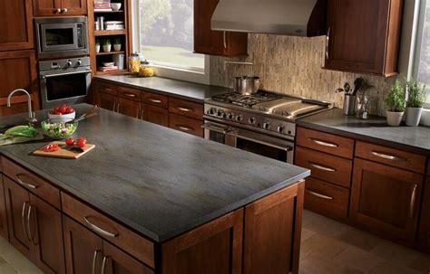 custom kitchen island  corian countertop  charcoal