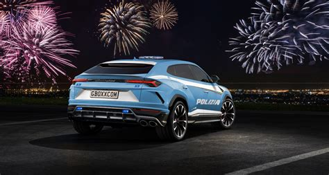 lamborghini urus ideal   police job drivers magazine