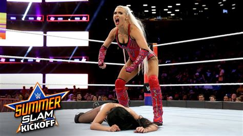 video wwe summerslam rusev  lana  zelina vega