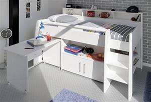 Bett Mit Ablagefläche : parisot halbhohes bett swan online kaufen otto ~ Indierocktalk.com Haus und Dekorationen